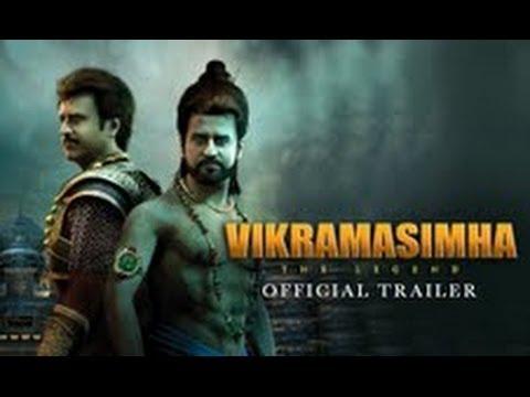 Vikramasimha - The Legend - Official Trailer | Rajinikanth & Deepika Padukone