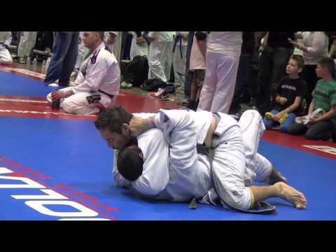 Black Belt BJJ match Gracie Nationals 2013