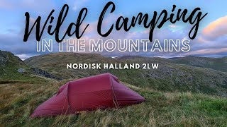 Wild Camping in the Mountains in a Nordisk Halland 2LW Tent