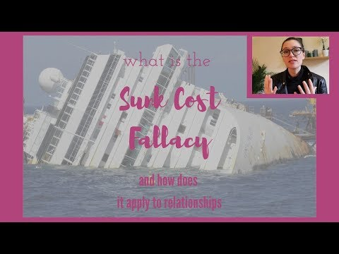 The Sunk Cost Fallacy<br />Explaining why we stay in unhappy relationships