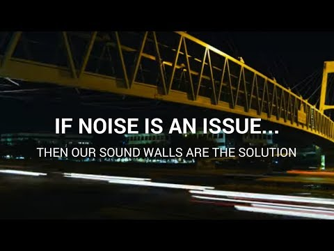 Sound Wall Solutions for Commercial Applications