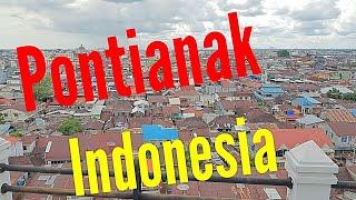 Pontianak. Kalimantan. Indonesia 印尼 5-2016 Street view