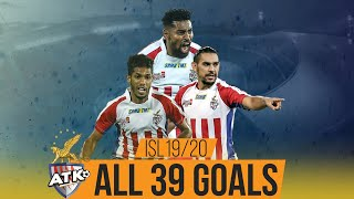 ISL 2019-20 All Goals: ATK ft. Roy Krishna and David Williams