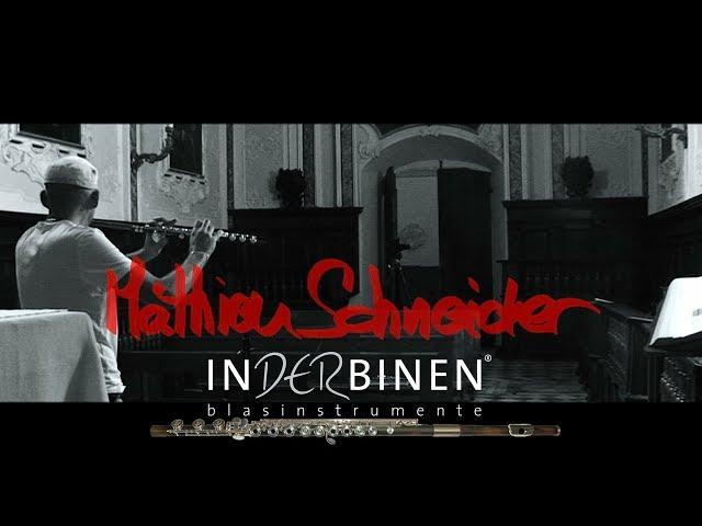 J.S Bach Cantata BWV 156 Mathieu Schneider flute