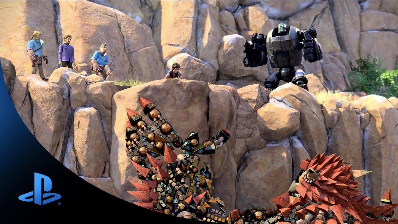 Gamescom 2013: Novo Trailer de Knack Revelado