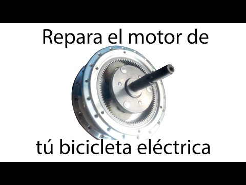 Reparación de Motor de bicicleta eléctrica 500w