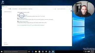 How To Create A Recovery USB Flash Drive Windows 10