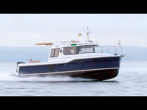Ranger Tugs R-25 video