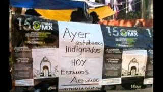 preview picture of video 'Los indignados de México'