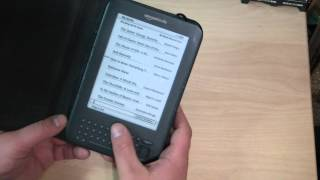 Amazon Kindle 3 3G + Wifi with keyboard E-Reader Review - Why its a great buy ! 2014