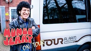 START OF THE MUNGO JERRY TOUR - DAY 1