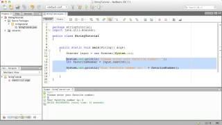 Java Programming Ep. 3: Strings & Scanner Input