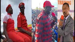 Bobi Wine, Dr Kizza Besigye Ne Mugisha Muntu Begase In Homia | NRM Kawedemu