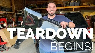 Rebuilding A Wrecked 2017 Ford Police Interceptor Utility - Part 2
