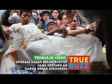 Operasi Pasar Belum Efektif Jaga Kestabilan Harga Beras Indonesia