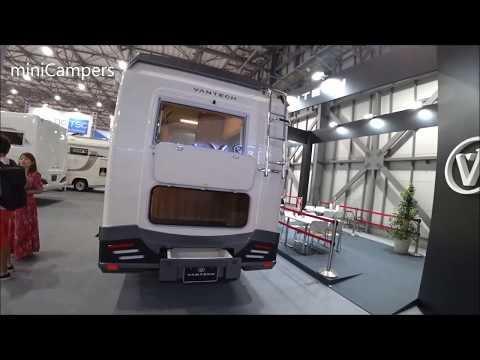Japanese kei camper VANTECH ZIL NOBLE 2020 キャンピングカー
