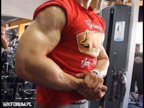 Pompa górne mięśnie piersiowe pompek
