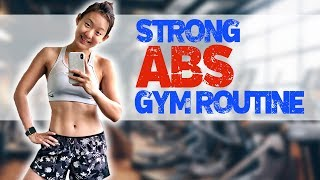 Strong & Solid Ab Exercises in the Gym | Joanna Soh