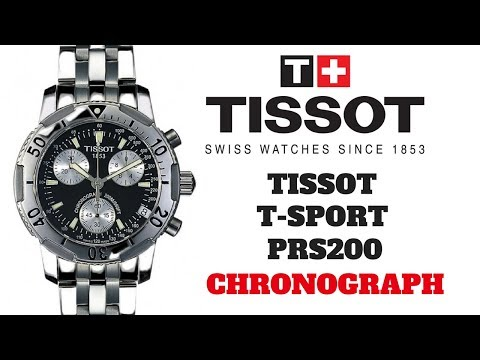 Tissot T-Sport PRS200 Chronograph Watch Review (4K Quality)