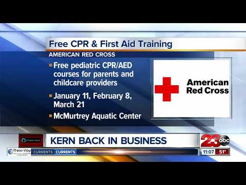 Free CPR and first aid training offered for parents - YouTube