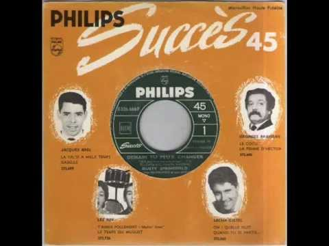 DUSTY SPRINGFIELD - DEMAIN TU PEUX CHANGER (Will You Love Me Tomorrow) - PHILIPS B326.666F