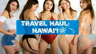 Travel Haul/ LookBook | What I Brought to Hawaii | Outfit Ideas | FashionNova, Forever21, etc.
