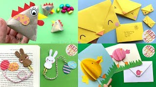 5 Easter Crafts - Fun Ideas For Spring & Easter - DIY Ideas For Kids