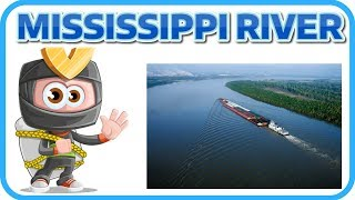[Learn English Earth 27] MISSISSIPPI RIVER FACTS