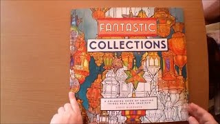 Fantastic Collections By Steve McDonald Colouring Book Flipthrough