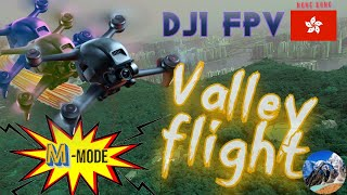 Valley flight DJI FPV Raw footage M mode 手動模式 元荃古道 山谷飛行