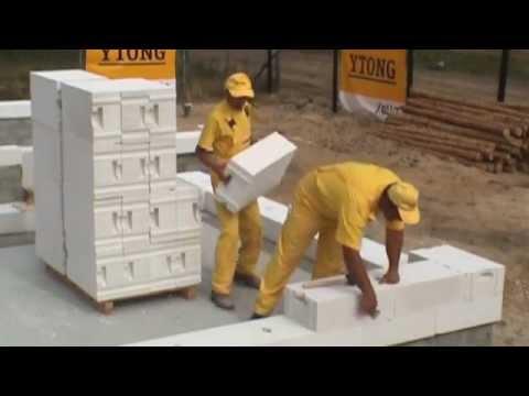 Ciepła ściana jednowarstwowa z betonu komórkowego Ytong Energo, odc. 1/2 - zdjęcie