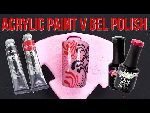 Acrylic Paint vs Gel Polish