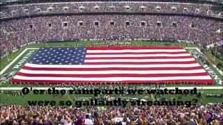 USA National Anthem [The Star-Spangled Banner] - With Lyrics