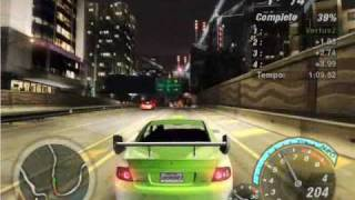 Геймплей Need for Speed Underground 2