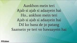 Aankhon Mein Teri | Om Shanti Om | - Lyrics - YouTube