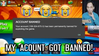 MY ACCOUNT GOT BANNED IN 8 BALL POOL..(I am speechless)
