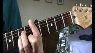 Ron Wood guitar lesson for dummies (Debris)