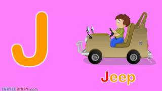 Toddler Words | Words Starting With J