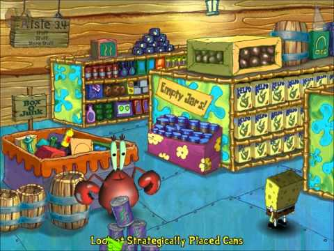 SpongeBob SquarePants Employee of the Month Walkthrough - part 2 by - employee of the month 2