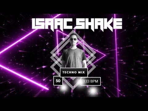 TECHNO Music by Isaac Shake - DJ MIX in live (Techno Oscuro) 50 + Tracklist