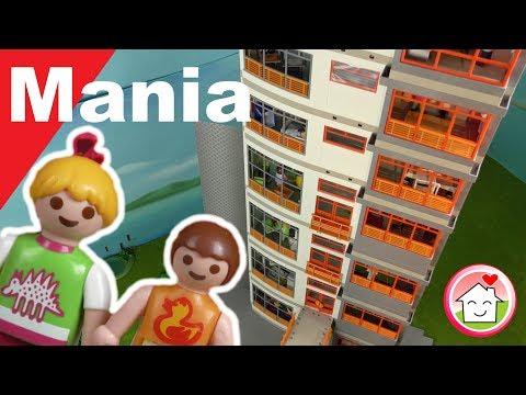 Playmobil deutsch - Das Mega Krankenhaus von Familie Hauser - PLAYMOMANIA