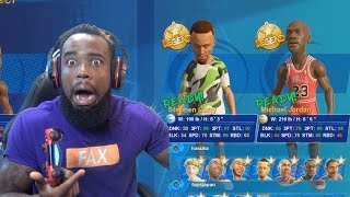 3 Point Basketball Competition Vs. Stephen Curry! NBA Playgrounds 2
