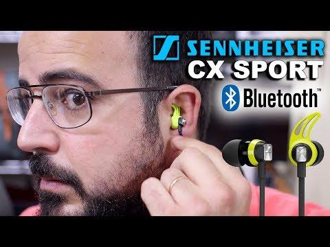 Sennheiser CX Sport. Auriculares Bluetooth deportivos