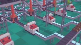 Voxel Tycoon | Ep. 03 | Conveyor Havoc & Supply Chains | Voxel Tycoon Transport Train Gameplay