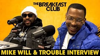 The Breakfast Club - Mike Will & Trouble Talk Studio Sessions, Storytelling, Who Created Trap Music + More