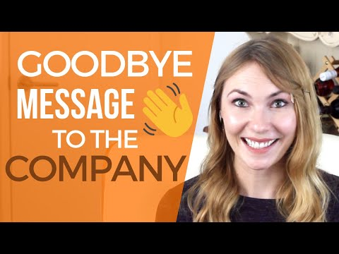 Download Farewell Letter to Coworkers - Template & Example! Mp4 HD Video and MP3