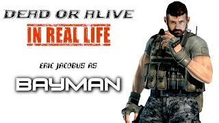 Dead or Alive Sambo workout - BAYMAN in Real Life [Eric Jacobus]