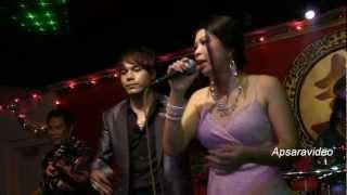 "Chhorn Sovannareach & Sambath singing classic Ramvong ""Veal Euy Veal Thom"""