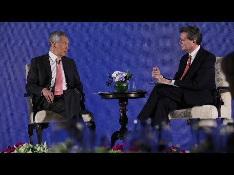 Q2: PM Lee: I think you overstate our role (Bloomberg New Economy Forum 2018)