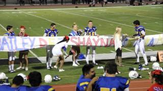 Homecoming Proposal by FV Football Players ᴴᴰ